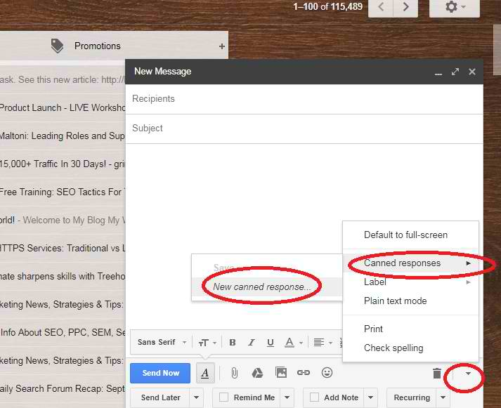 compose gmail