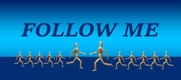 follow audience on twitter