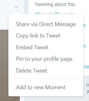 pin your top tweet