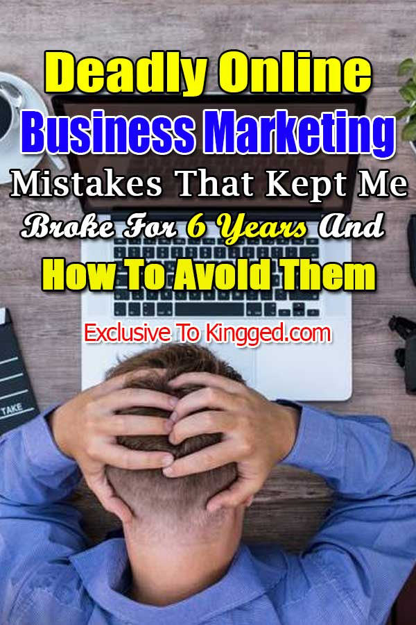 online business marketing mistakes and how to avoid them