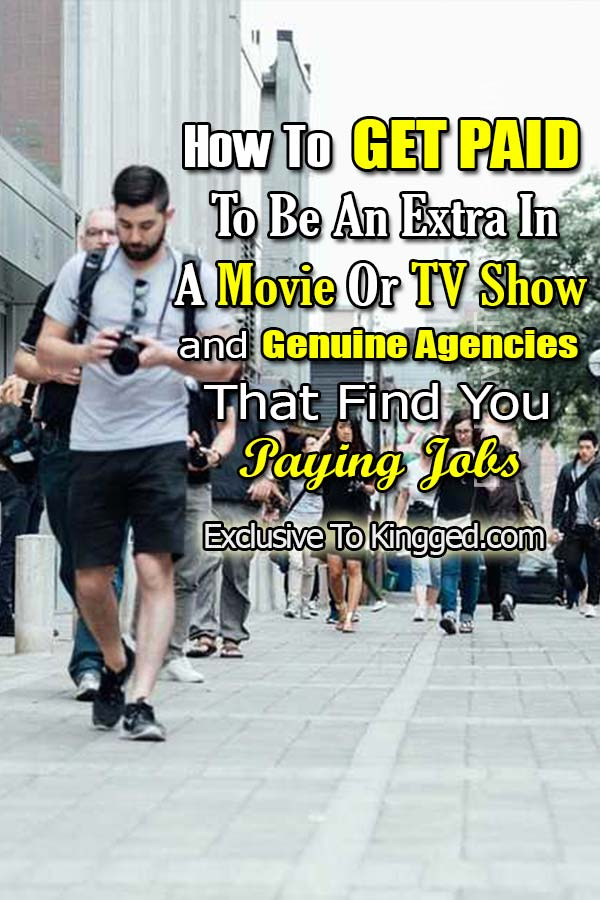 how to be an extra in a movie