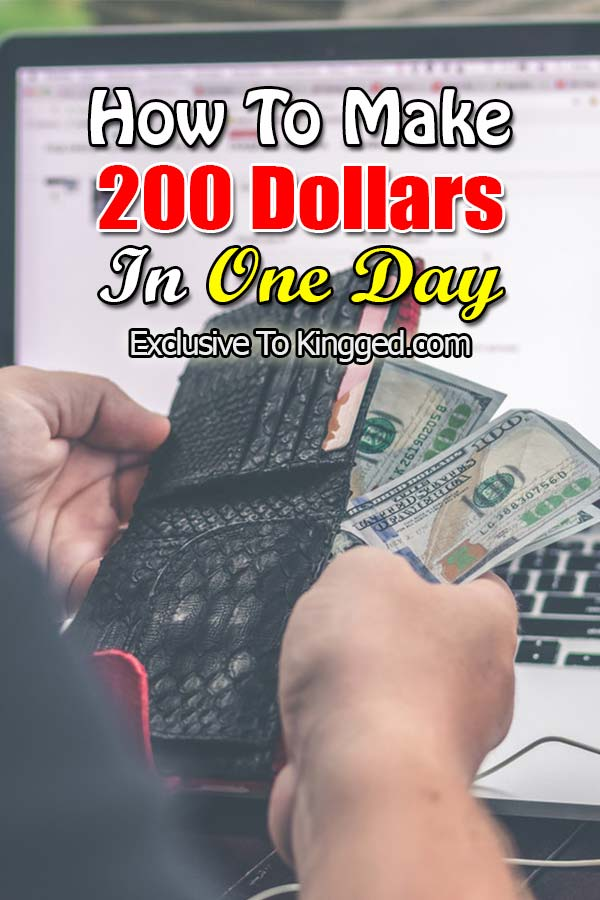 How To Make 200 Dollars A Day