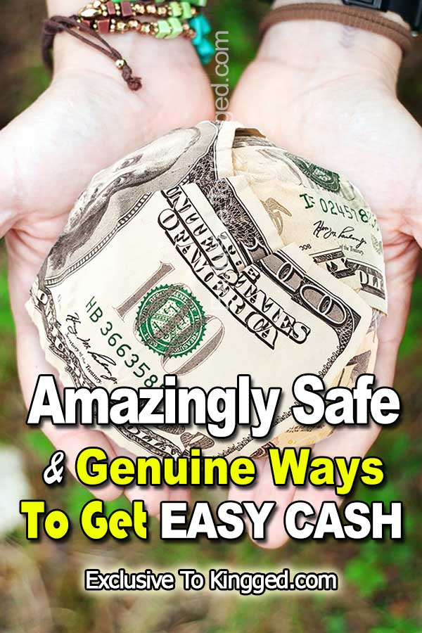 how to get easy cash