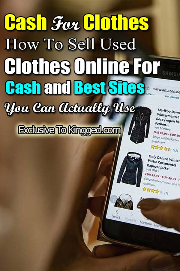 Cash For Clothes - 17 Best Sites for Selling Used Clothes