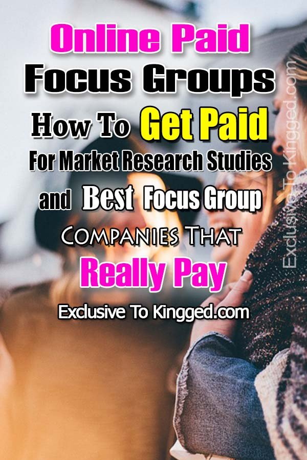 online paid focus groups