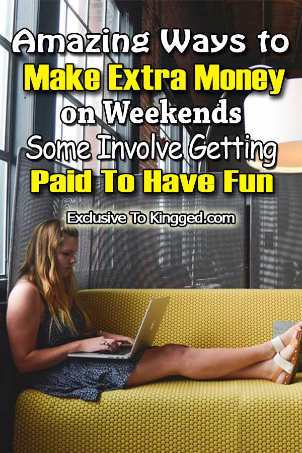 make money on weekends