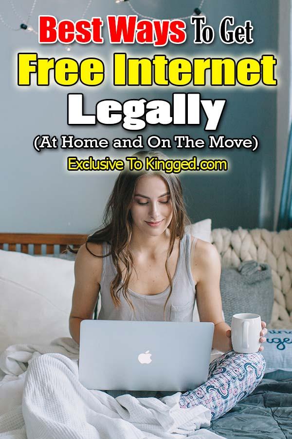 Best Ways To Get Free Internet Legally
