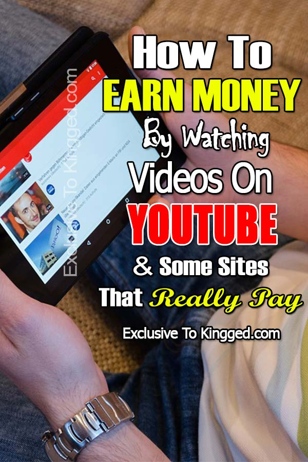 How To Earn Money By Watching Videos On Youtube