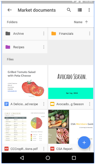 best blog apps google drive