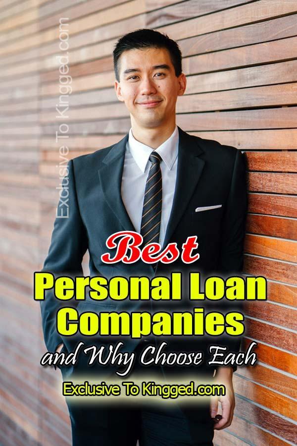 best personal loan companies