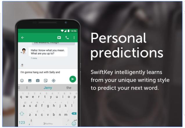 blogging apps SwiftKey Keyboard
