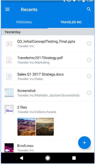 blogging apps dropbox