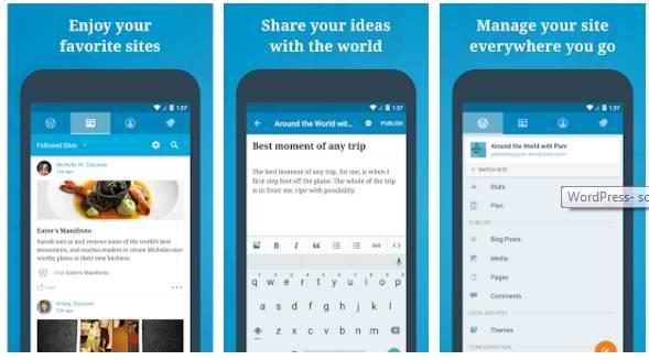 blogging apps wordpress