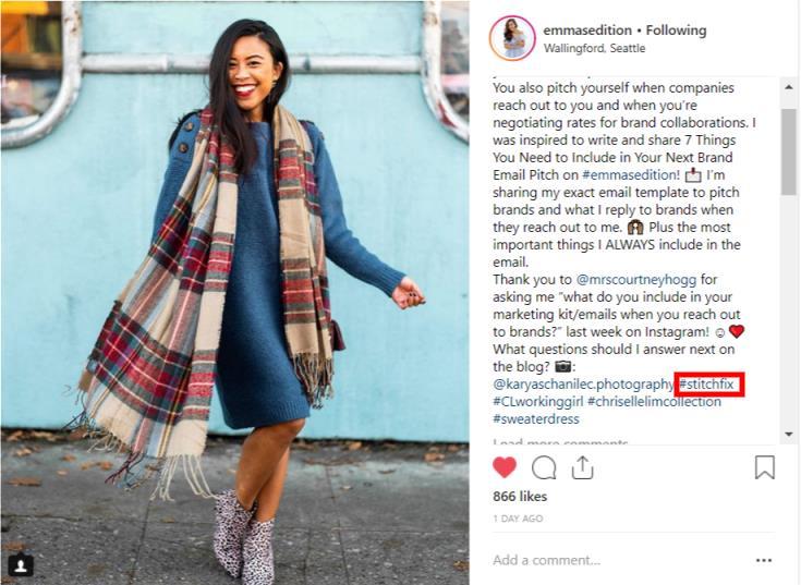 content creator instagram hashtag