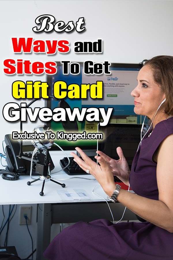 get gift cards giveaways
