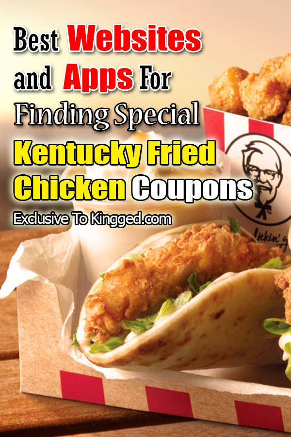 KFC Kentucky Fried Chicken Coupons sites