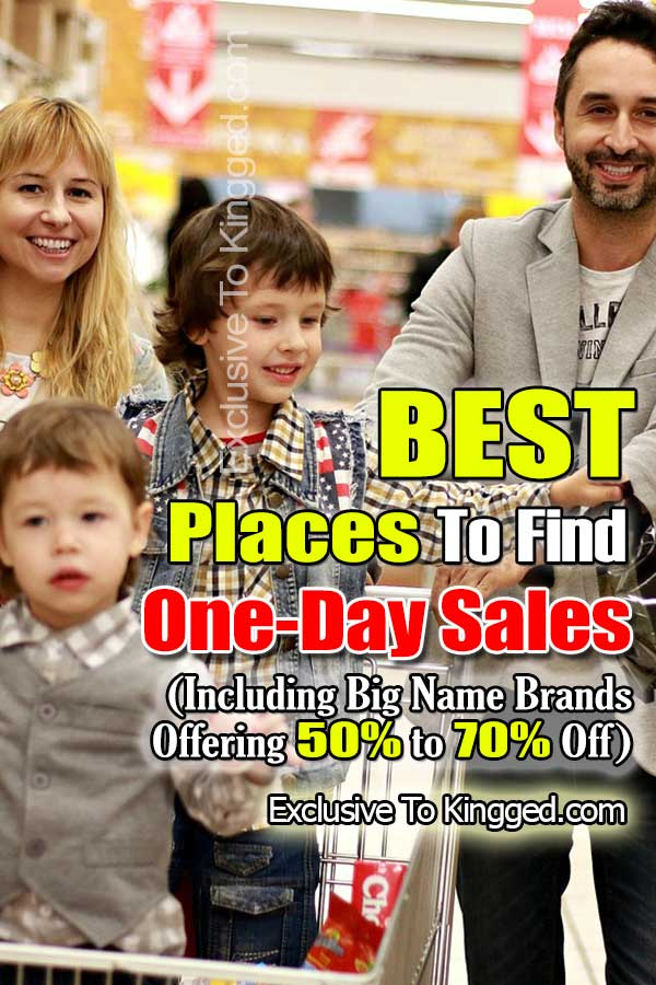 one day sales websites