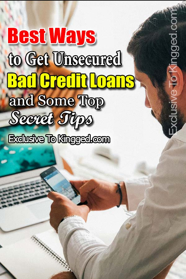 applying for unsecured bad credit loans