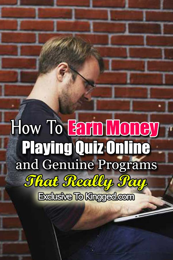 playing quiz to earn money online