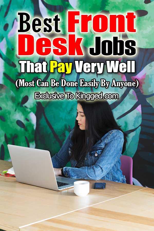 front desk jobs