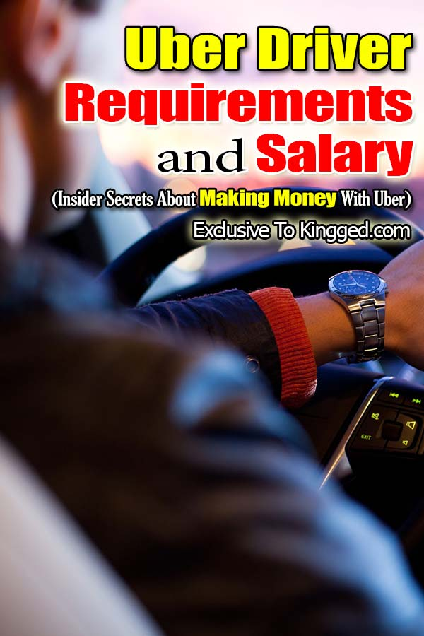 Uber driver requirements and salary