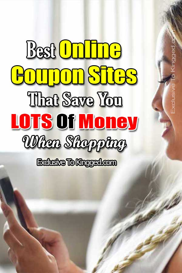 35 Best Online Coupon Sites That Save You Lots Of Money Shopping