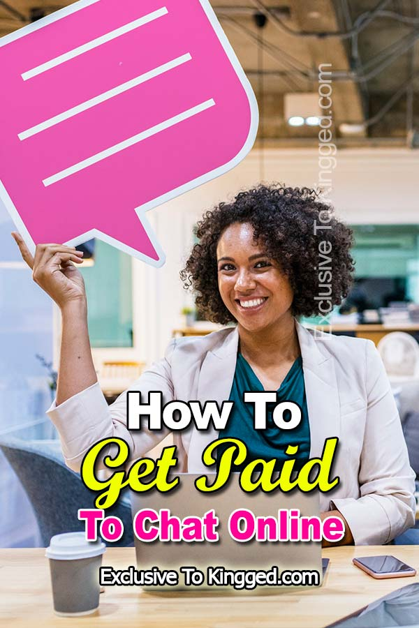 Get Paid To Chat Online