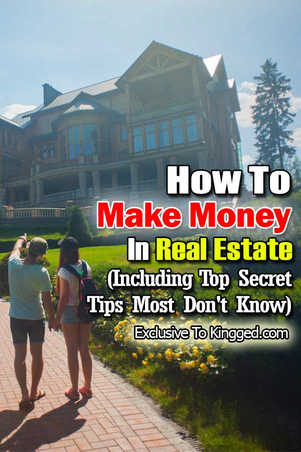 make money in real estate