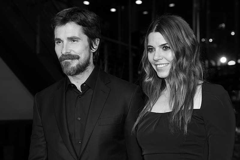 Christian Bale and wife Sibi Blažić