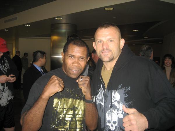 Davis and chuck liddell