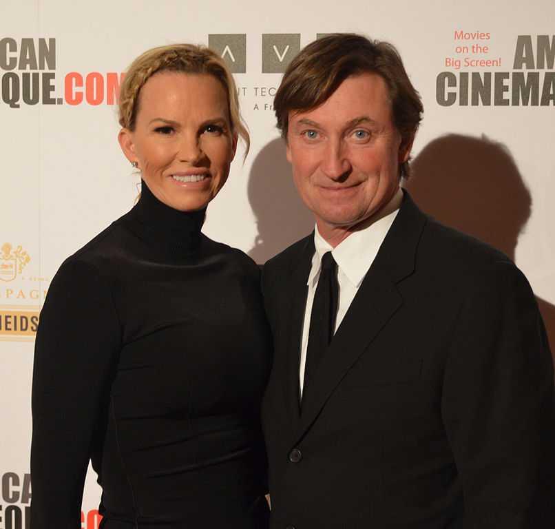 Janet and Wayne Gretzky