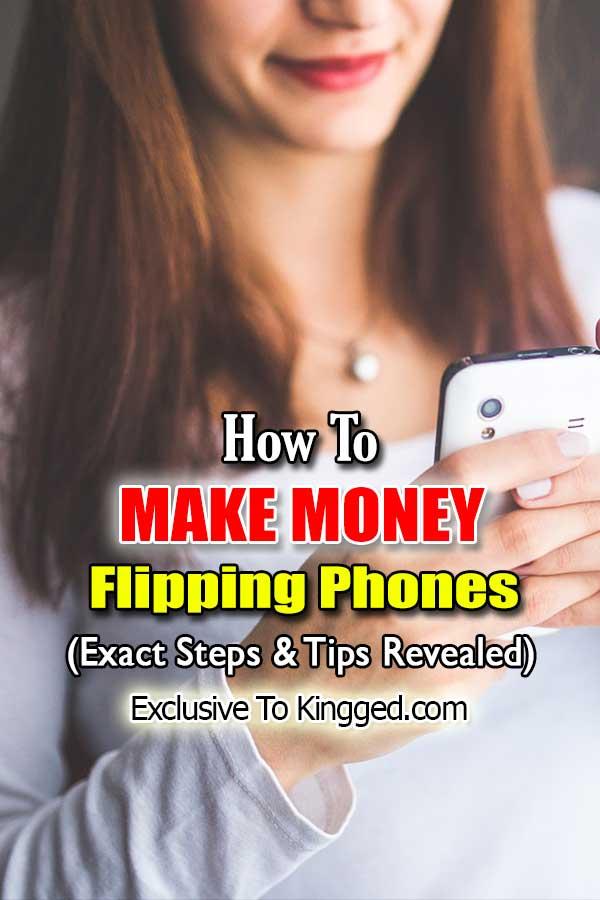 make money flipping phones