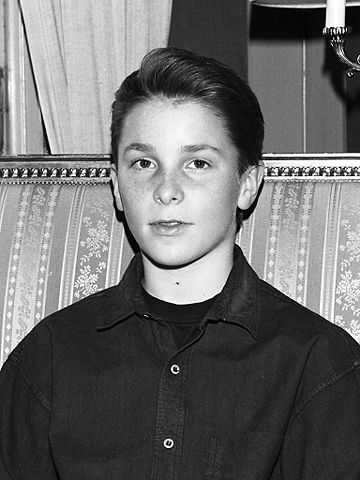 Christian Bale younger